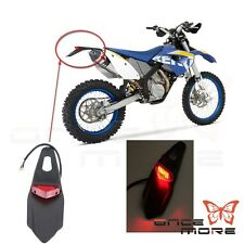 Motocross Off Road LED Taillight Rear Fender For Dirtbike DRZ400 WR 250 /450 XR