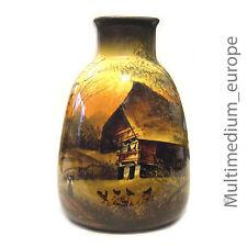 Jugendstil Vase Keramik Schramberg Majolika Schwarzwald haus Theodor Reiss