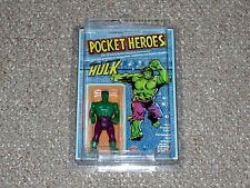 1979 Mego Grand Toys Pocket Heroes Hulk MOC Unpunched Denim Variant Canadian