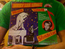 Jerry Lee Lewis Whole Lotta Shakin' LP sealed vinyl RE reissue