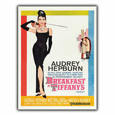 BREAKFAST AT TIFFANY'S METAL SIGN WALL PLAQUE Film Movie Advert poster print