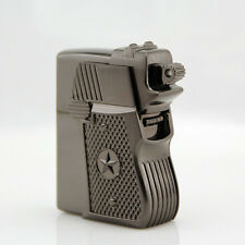 New Zorro 1911 G17 Gun Grip Style Kerosene Lighter Windproof Lighters Gift Toy