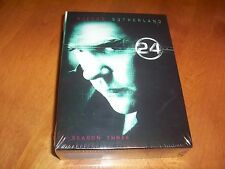 24 Complete 3th Season 3 Three Keifer Sutherland TV Widescreen DVD SET NEW