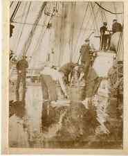 """""""La Meurthe"""", commandant Richard Foy et le naufrage du Tamaris Vintage print"""