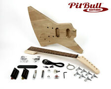 Pit Bull Guitars EXA-7 7 String Electric Guitar Kit (Ash Body)