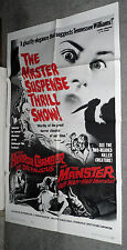 EYES WITHOUT A FACE/THE HORROR CHAMBER OF DR. FAUSTUS original 1962 movie poster