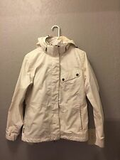 Merrell Women's Opti-Warm Winter Jacket Coat MEDIUM M Ivory Cream 3 In 1 Puffer
