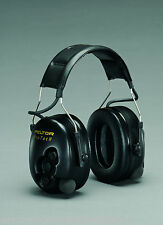 3M Peltor Protac Pro-Tac II 2 Active Hunting Ear Muff  Defender Black Headband