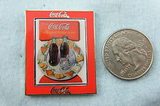 WILLABEE & WARD PIN COCA COLA  DRINK COCA COLA WITH GOOD THINGS TO EAT