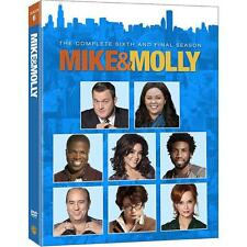 Mike and & Molly: Melissa McCarthy Series Complete Season 6 DVD/Box Set NEW!