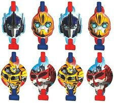 Transformers Prime Blowouts Set of 8 Party Favors  Birthday Supplies