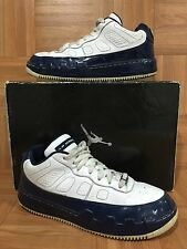 RARE�� Nike AJF 9 IX LOW Retro Jordan Air Fusion Nite Navy White Sz 9 362279-141