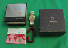 1977 Omega automatic Watch gold plated 23 jewels 1012  Does not work all of time