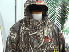 ~AMAZING~UNDER ARMOUR~MENS~SKYSWEEPER SYSTEMS~COLDGEAR~REALTREE MAX-4 JACKET~XXL