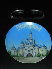 "Vintage Mint Disneyland Disney Souvenir Plate 6  1/2"" Made in Japan Castle World"