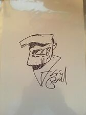 Eric Powell The Goon Original Art Sketch Backboard