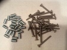 25 .787 Inserts And Stainless Phillips Pan Head Machine Screw 1/4 - 20 X 2 1/2