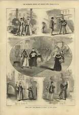 1879 Merchant Of Venice At The Lyceum Scenes