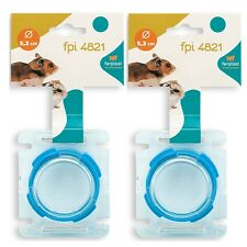 Ferplast hamster tube end cap cover connector - FPI 4820 - 2 Pack