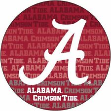 "ALABAMA 4"" REPEAT DESIGN MANGET-ALABAMA CRIMSON TIDE CAR MAGNET-NEW FOR 2016!"
