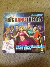 New In Sealed Box The Big Bang Theory Fan Edition Fact Or Fiction Trivia Game