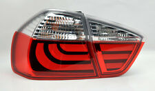 Red Clear LED Light Bar Tail Lights Pair RH LH FITS BMW 3 Series 06-08 E90 4Dr