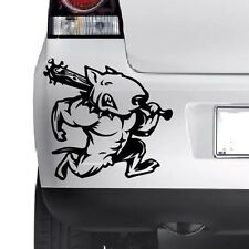 MUSCULAR BULL TERRIER Vinyl Sticker Decal Car  Bumper Laptop Window Wall JMD