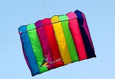 "8 HOLE ""GALAXY"" SINGLE LINE PARACHUTE PARAFOIL FOIL KITE OUTDOOR BEACH FUN"