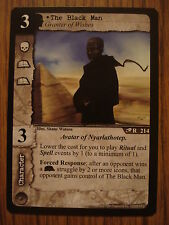 CALL OF CTHULHU CCG: ELDRITCH EDITION: RARE CARD: THE BLACK MAN