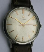 VINTAGE OMEGA  CAL.286 STAINLESS STEEL  MEN'S WRIST WATCH SWISS MADE 1963