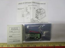 Teco Westinghouse JN SIF-IO INPUT/OUTPUT EXPANSION CARD Drive Frequency Inverter