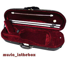 Light Weight - 4/4 Enhanced/Moon Shape Designed Violin Case + Violin String Set