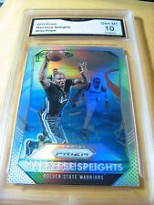 MAREESE SPEIGHTS MO BUCKETS WARRIORS 2015 PRIZM PRIZM # 230 GRADED 10  L@@@@K