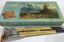 Vtg Old Stock Windsor Newton Paint Brushes & Cotman Watercolor Box Set
