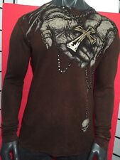 AFFLICTION OZZY OSBOURNE MEDIUM,BLACK SABBATH,BIKER,ROCKER,TATTOO GOTHIC SHIRT