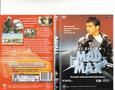 Mad Max-1979-Mel Gibson-Australia Movie-DVD