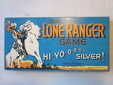 1938 The Lone Ranger Game Hi Yo Silver boardgame by Parker Brothers