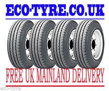 4x Tyres 235 65 R16C 115/113R 8PR House Brand Light Truck Van E C 72dB