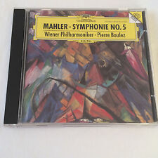 Mahler: Symphonie No. 5, Wiener Philharmoniker, Pierre Boulez, Audio CD