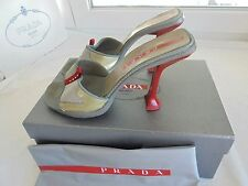 Tolle Prada High Heel Sandaletten NP: 430€ TOP Schuhe Pumps Sandalen Gr. 39,5 40