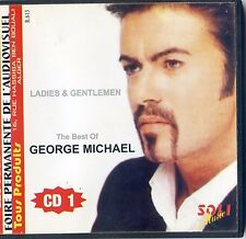 "GEORGE MICHAEL""LADY & GENTLEMEN"" THE BEST OF CD ALGERIEN  / + RARE CD +"