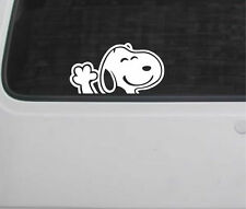 Snoopy wave Car Decal Sticker VW T4 T5 Camper bay split transporter bug beetle