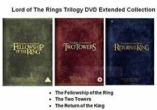 LORD OF THE RINGS TRILOGY  EXTENDED EDITION PART 1 2 3 NEW SEALED UK R2 DVD