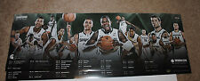 2014-15 Michigan State Spartans mens basketball schedule poster IZZO FINAL FOUR