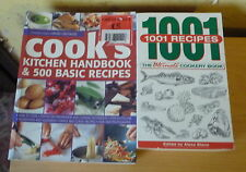 1001 recipes & 500 recipes cookery books