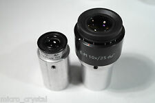 "Microscope to telescope eyepiece adapter 23,2mm & 30mm to 1,25"" set of TWO -PAIR"