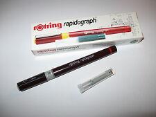 Rotring  RAPIDOGRAPH  Tuschefüller  2,0 mm    SUPER !!