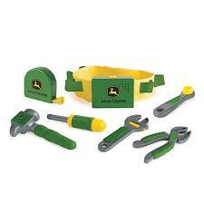 NEW John Deere Talking Toolbelt Set w/Toolbelt, 4 tools, and cap (TBEK35070)