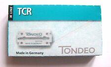 TONDEO 1 x 10 Klingen TCR für Rasiermesser aus der M-Line