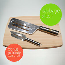 Kitchen Knife Slicer Cabbage chopper Shredder Sauerkraut Cutter Coleslaw Grater